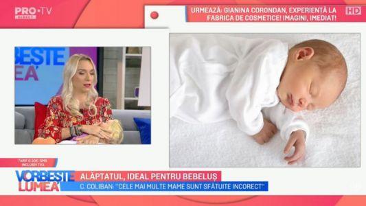 Alaptarea, ideala pentru bebelusi