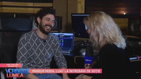 Marius Moga, luat la intrebari de sotie