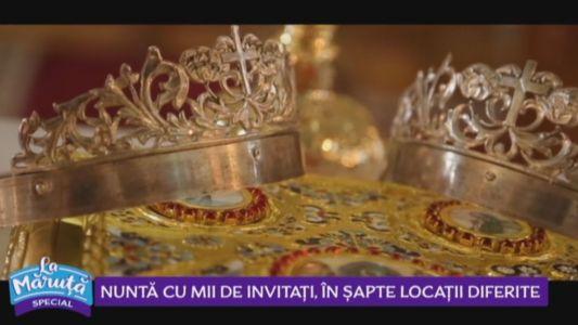 Nunta cu mii de invitati, in sapte locatii diferite