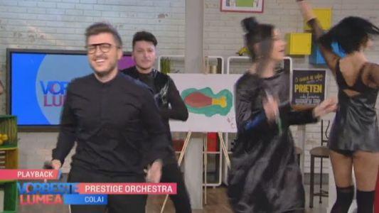 Prestige Orchestra, show la Vorbeste Lumea