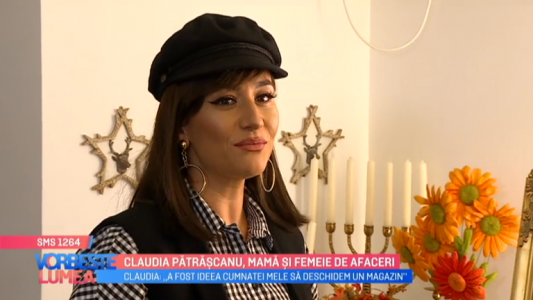Claudia Patrascanu, mama si femeie de afaceri