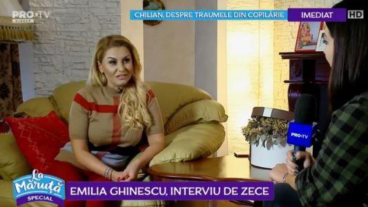 Emilia Ghinescu, interviu de 10