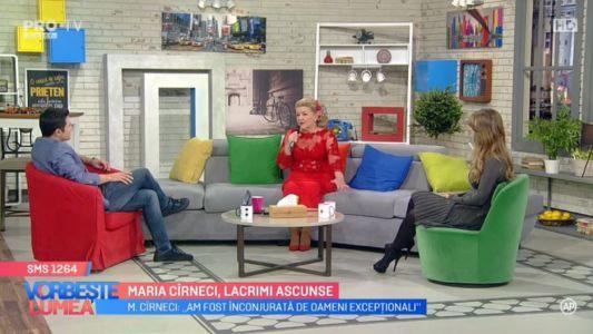 Maria Cirneci, lacrimi ascunse