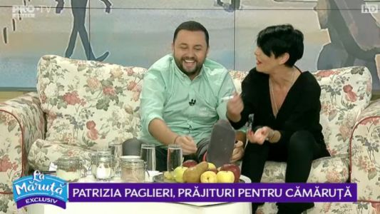 Patrizia Paglieri, prajituri pentru camaruta