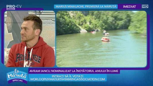Avram Iancu, nominalizat la inotatorul anului in lume