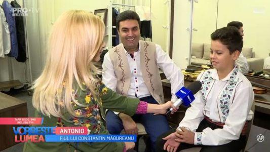Constantin Magureanu ne face cunostinta cu fiii sai
