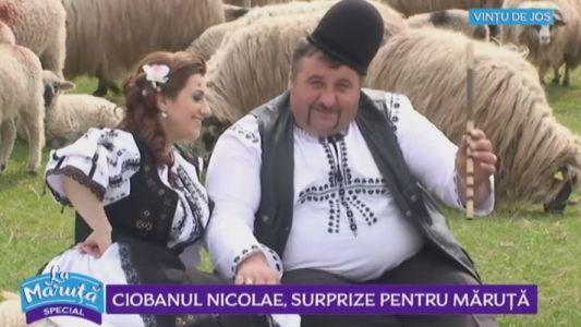 Ciobanul Nicolae, surprize pentru Maruta