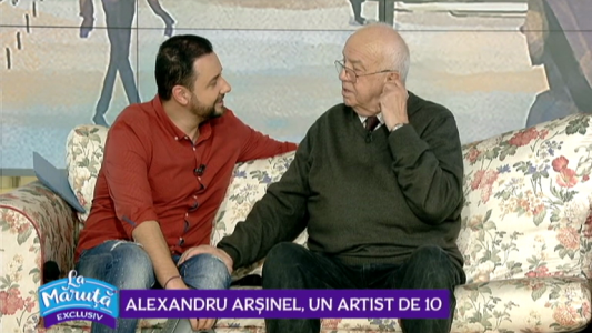 Alexandru Arsinel, un artist de 10
