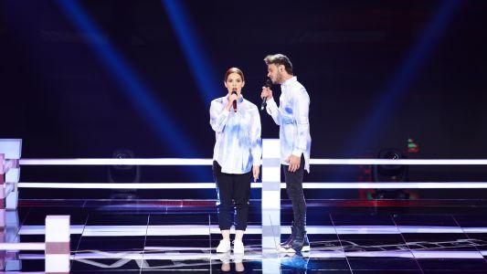 Vocea Romaniei - sezonul 7: Dima Trofim vs. Ioana Barba - Somebody That I Used to Know