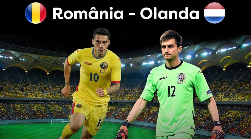 Romania-Olanda este LIVE astazi, la PRO TV, de la 21:00!