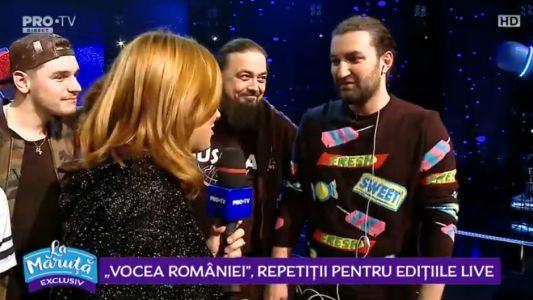 Vocea romaniei, reptetitii pentru editiile LIVE