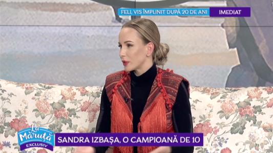 Sandra Izbasa, o campioana de 10