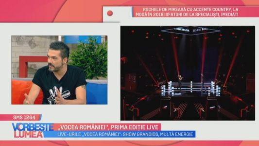 Vocea Romaniei, prima editie live