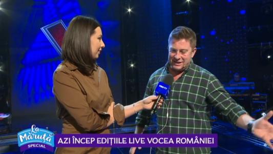 Azi incep editiile live Vocea Romaniei
