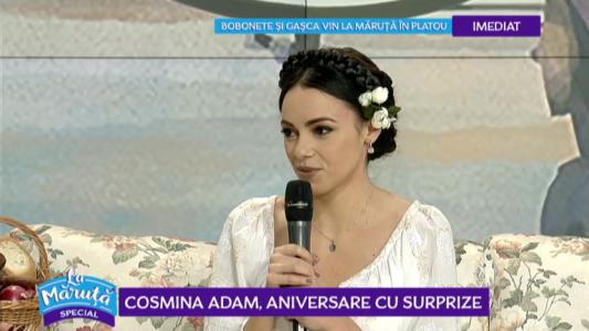 Cosmina Adam, aniversare cu surprize