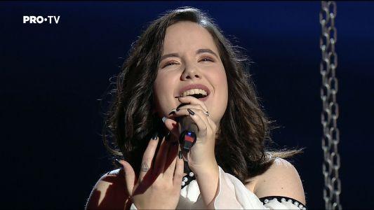 Vocea Romaniei - sezonul 7: Adriana Ciobanu - Send Me an Angel