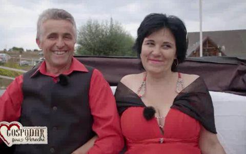 Vasile si Mioara se bucura de o cina romantica in doi