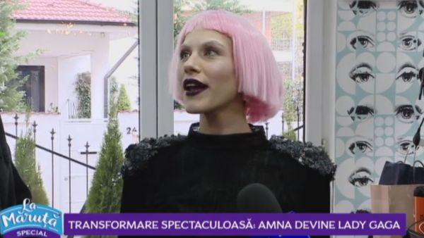 Amna a devenit Lady Gaga