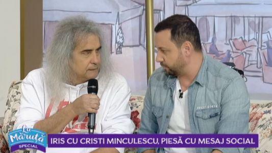 Iris cu Cristi Minculescu, piesa cu mesaj social