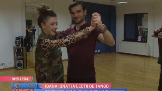 Ioana Ignat ia lectii de Tango
