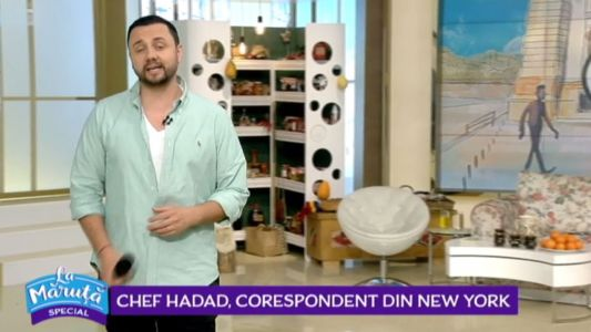 Chef Hadad, corespondent din New York