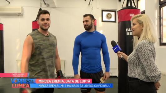 Mircea Eremia, gata de lupta