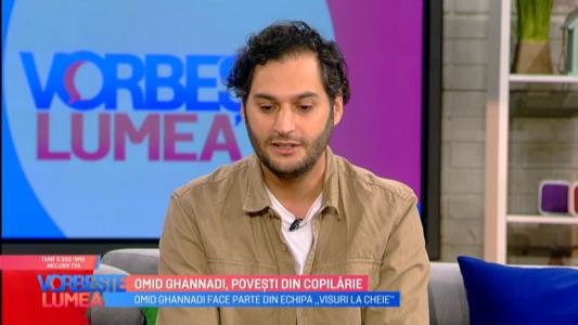 Omid Ghannadi, povesti din copilarie