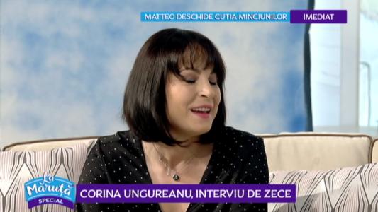 Corina Ungureanu, interviu de zece