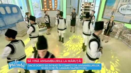 Sa vina ansamblurile La Maruta!