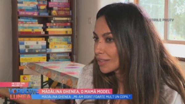 Madalina Ghenea, o mama model