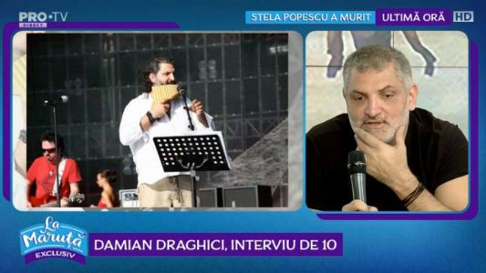 Damian Draghici, interviu de 10