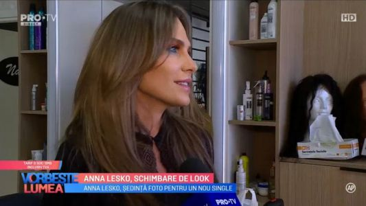 Anna Lesko, schimbare de look