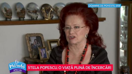 Stela Popescu, o viata plina de incercari