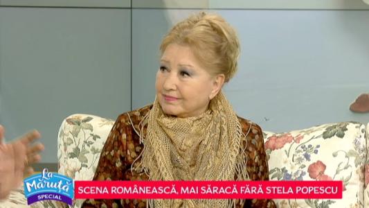 "E. Popescu: ""Langa Stela nu aveai voie sa fii obosit"""