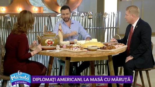 Diplomati americani, la masa cu Maruta