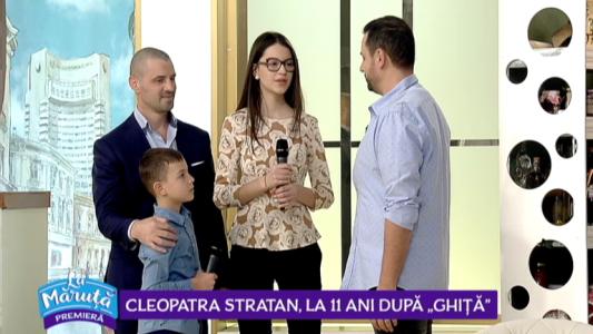 """Cleopatra stratan, la 11 ani dupa """"Ghita"""""""