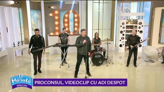 Proconsul, videoclip cu Adi Despot