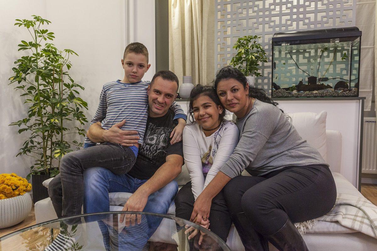 Familia Dumitrascu a inceput o viata noua cu ajutorul echipei Visuri la cheie!