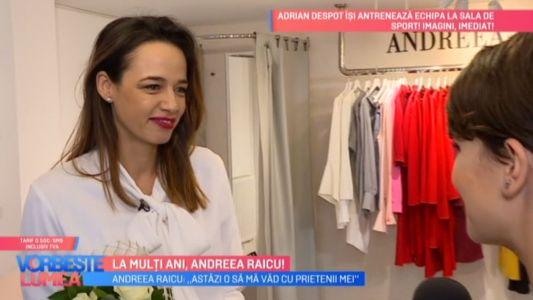 La multi ani, Andreea Raicu!