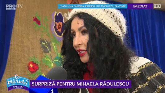 Surpriza pentru Mihaela Radulescu