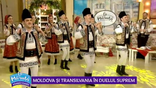 Moldova si Transilvania in duelul suprem
