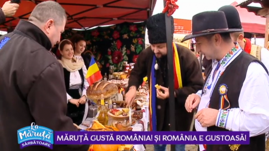 Maruta gusta Romania! Si Romania e gustoasa!