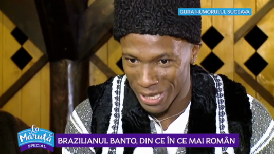 Braziloanul Banto, din ce in ce mai roman