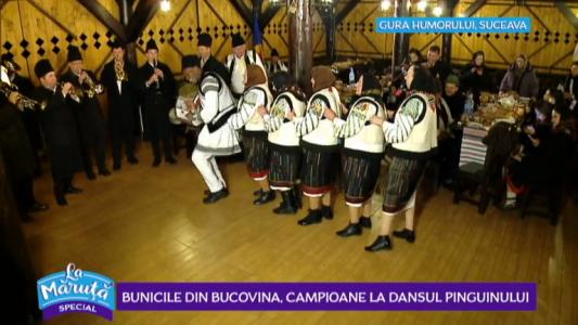 Bunicile din Bucovina, campioane la Dansul Pinguinului