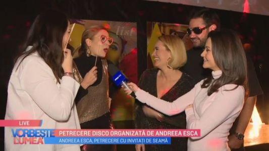 Petrecere disco organizata de Andreea Esca