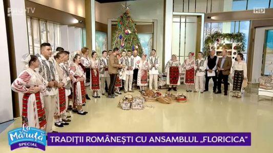 """Traditii romanesti cu """"Ansamblul Floricica"""""""