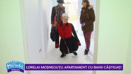 Lorelai Mosnegutu, apartament cu banii castigati