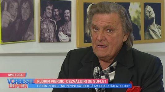 Florin Piersic, dezvaluiri de suflet