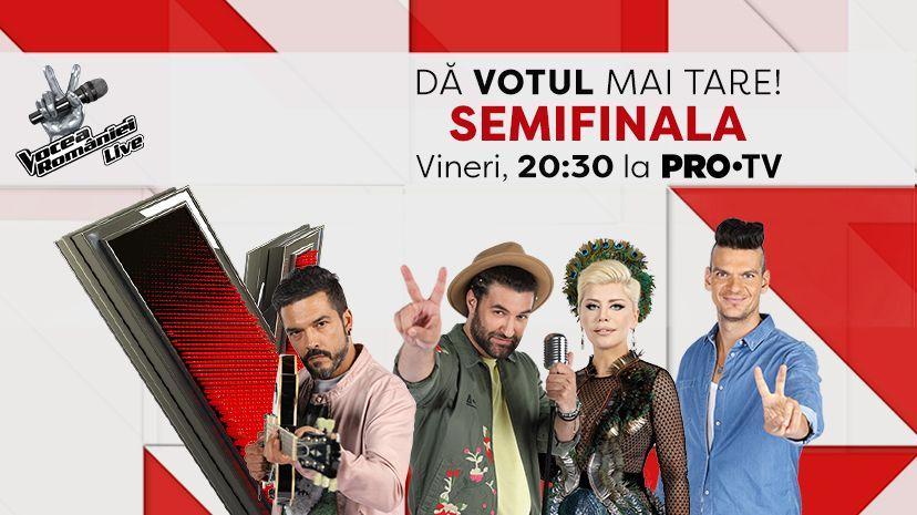 Afla aici cum iti poti sustine favoritii in SEMIFINALA Sezonului 7 Vocea Romaniei
