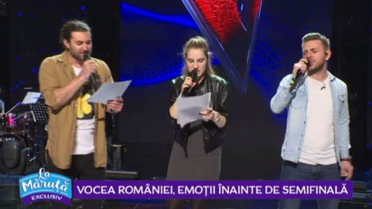 Vocea Romaniei, emotii inainte de Semifinala